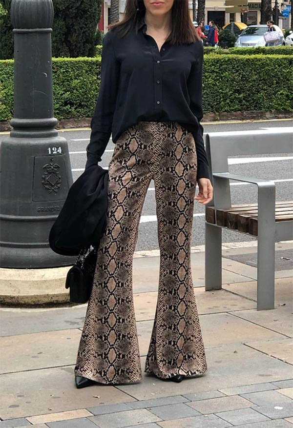 ANIMAL PRINT PANTS, LOOK 2