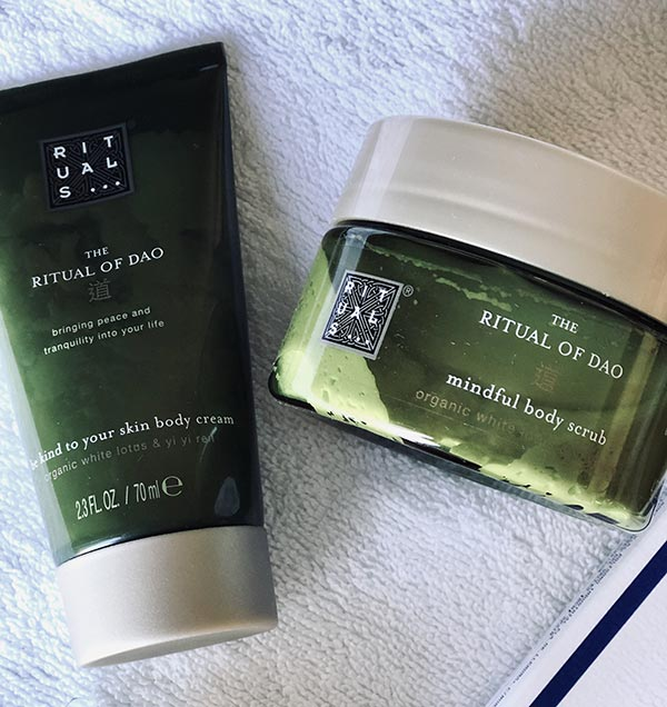 BEAUTY TIPS. EXFOLIANTE E HIDRANTANTE CORPORAL RITUALS