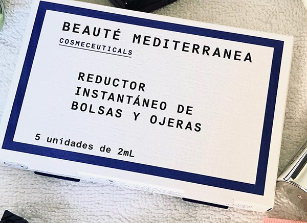 BEAUTY TIPS, REDUCTOR INSTANTANEO DE BOLSAS Y OJERAS